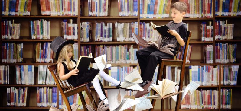дети, книги, книгуру